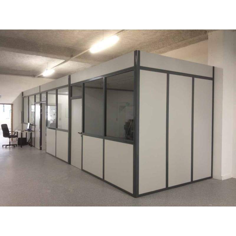 Removable office partition wall actiflip for Cloison interieur