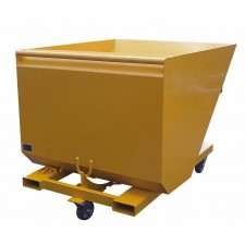 Skip with automatic tipping and return