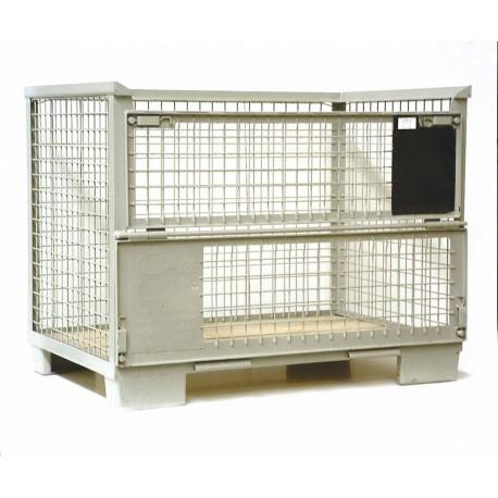 caisse palette m tallique europool actiflip. Black Bedroom Furniture Sets. Home Design Ideas