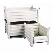 Metall-Palettenbox aus Stahlblech