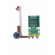 Manipulator trolley with electric lift