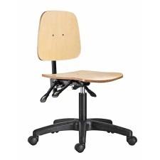 Arbeitsstuhl aus Holz