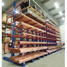 Rayonnage Cantilever pour charges lourdes