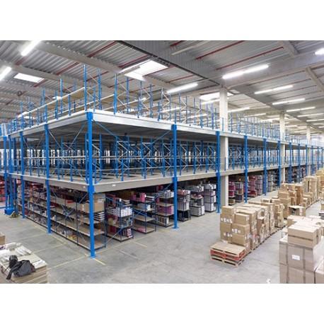 Plate-forme de stockage - Mezzanine industrielle
