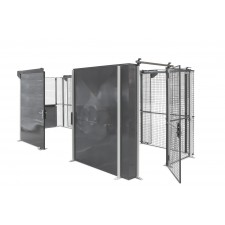 Industrial partition wall