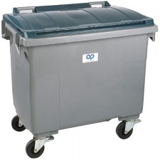 HDPE waste container