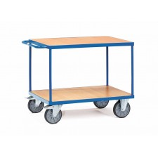 Multi-shelf trolley