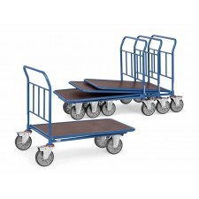 Inschuifbare transportwagen