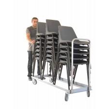 Transportwagen voor stoelen