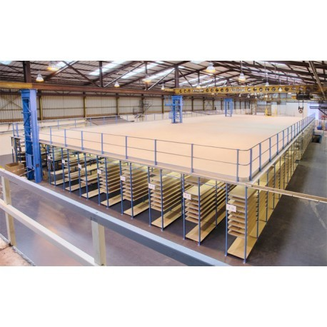 Plate-forme de stockage sur rayonnage