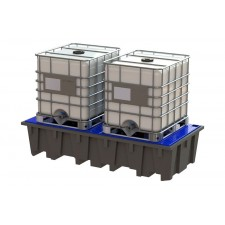 Plastic containment trays
