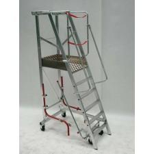 Rolling step ladder