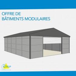 Une gamme complète de solutions d'agencement pour bâtiments modulaires