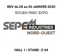 Salon SEPEM de Rouen du 28 au 30 janvier 2020